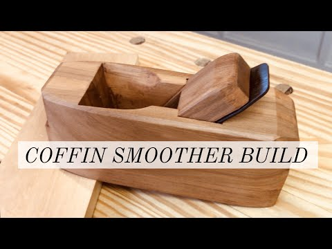 Making a Coffin Smoother Plane | Upcycling a generic woodworking hand plane