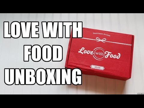Love With Food Unboxing | August 2015