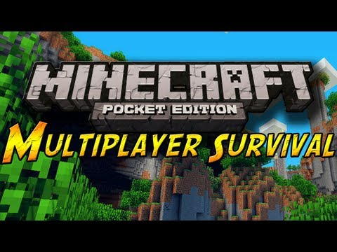 Multiplayer Survival Minecraft Pocket Edition - Ep. 4