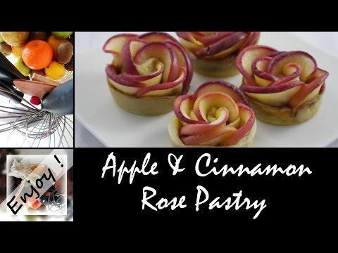 Apple & Cinnamon Rose Pastry, the easy recipe