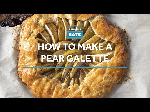 How to Make a Pear Galette