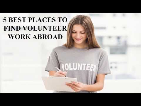 5 BEST PLACES TO FIND VOLUNTEER WORK ABROAD