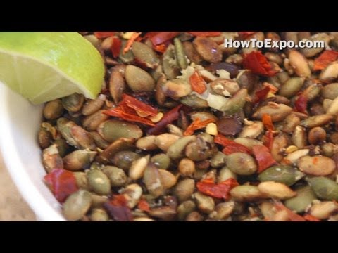 Pepitas Pumpkin Seed Snack Mix with Cranberries (Party Snack Recipe)