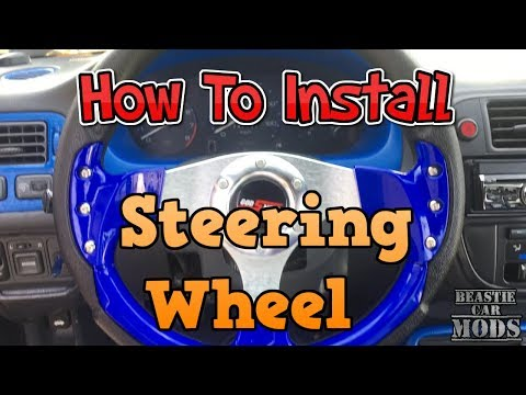 96 - 00 Honda Civic - How To Install Steering Wheel