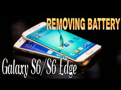 Samsung Galaxy S6/S6 Edge: How-to Remove Battery