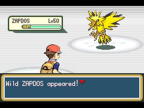 Pokémon FireRed - Catching Zapdos