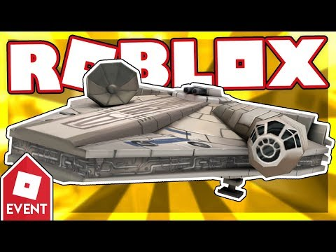 [EVENT] How to get the MILLENNIUM FALCON | Roblox