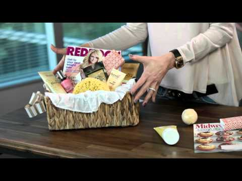 How To Create A Spa Basket For Mom
