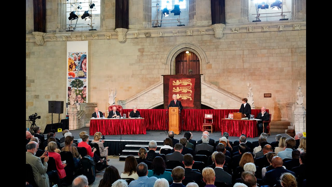 Treason? The trial of the Magna Carta barons: Westminster Hall, 31 July 2015