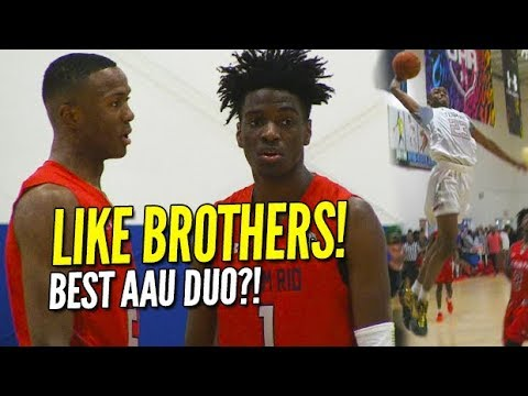 LIKE BROTHERS! Scottie Lewis, Bryan Antoine are AAU Basketball's BEST DUO! UAA Highlights!