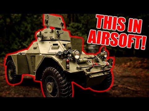 Sniping from an Airsoft TANK! and classic Cheaters!