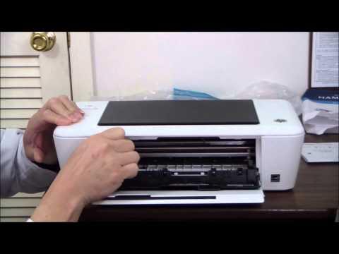 HP Deskjet 1010 Unboxing & Setup