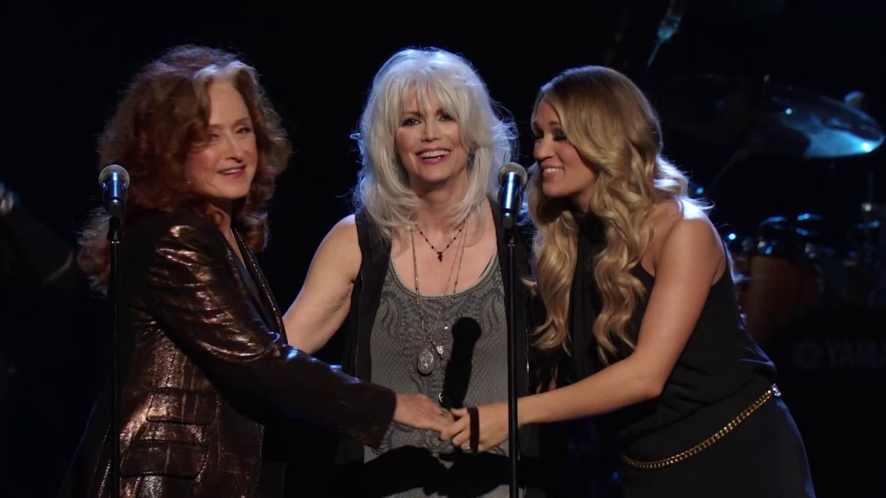"""""""Blue Bayou"""" performed in honor of Linda Ronstadt at the 2014 Induction Ceremony"""