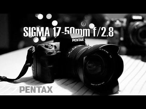 Sigma 17-50 f 2.8 para Pentax
