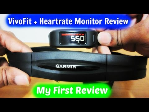 My First Review Vivofit W Heartrate Monitor
