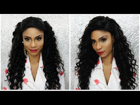 Amazing Brazilian Loose Deep Wave Hair + Styling Ft. Recool Hair