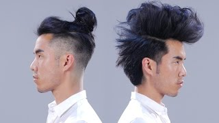 1 Man + 12 Hairstyles