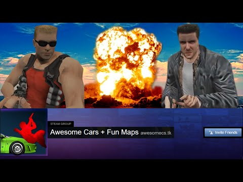 Awesome Cars + Fun Maps Trailer - Counter-Strike 1.6 Rally Server + Free VIP