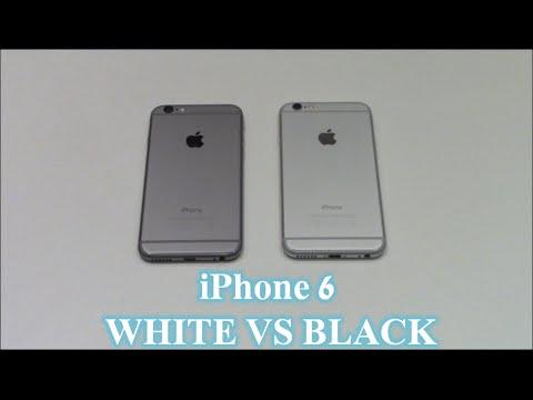iPhone 6 : White vs Black