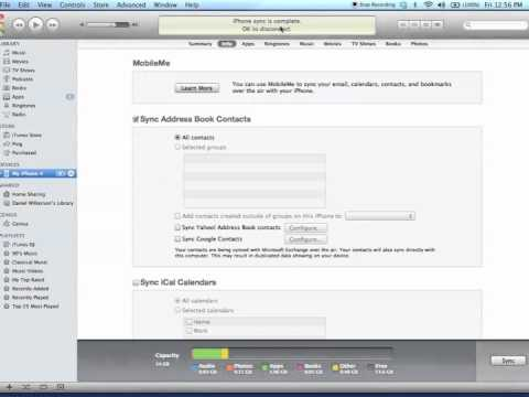 How to Backup Your Data in iTunes - Sync, Back Up, and Transfer Purchases