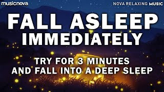 [Try Listening for 3 Minutes] FALL ASLEEP FAST | Healing Music | Sleeping Music For Deep Sleeping