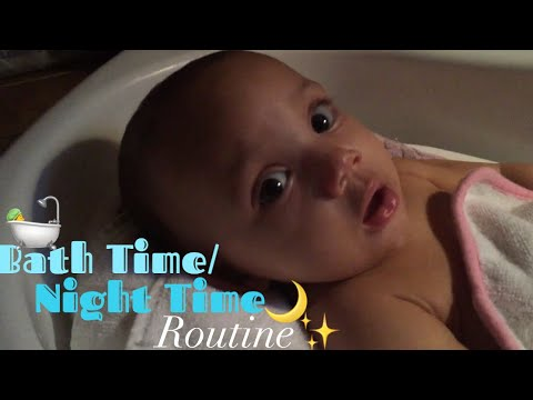 Baby's Bath Time/ Night Time Routine!| Teen Mom at 18