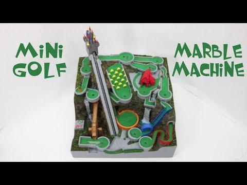 Mini Golf Marble Machine, a themed marble run