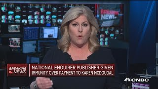 Download National Enquirer publisher given immunity over hush-money payment Video