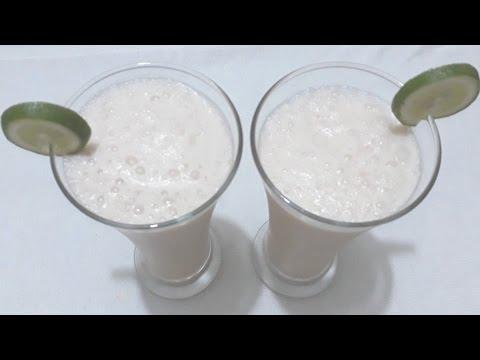 Dhakai Lassi Bangla Recipe | How To Make Lassi With Banana