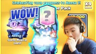 MY FIRST LEGENDARY!?!   ARENA 7 SPECIAL OFFER   Clash Royale