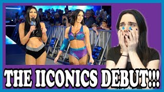 WWE SMACKDOWN 4/10/18: THE IICONICS DEBUT LIVE REACTION