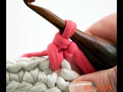 How to Crochet: Standing Single Crochet