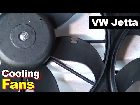 2012 VW Jetta Radiator Cooling Fan Replacement