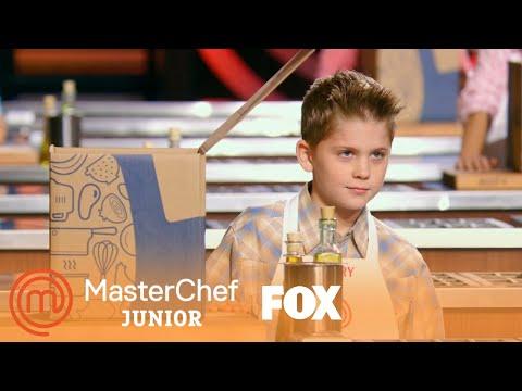 The Kids Receive Their Blue Apron Boxes | Season 6 Ep. 9 | MASTERCHEF JUNIOR