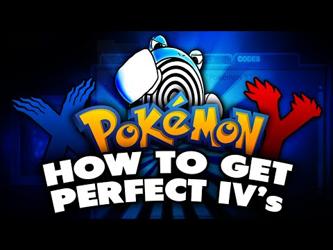 POWERSAVES IV CODES ARE BACK!!! - Pokemon X and Y - Perfect IV Pokemon