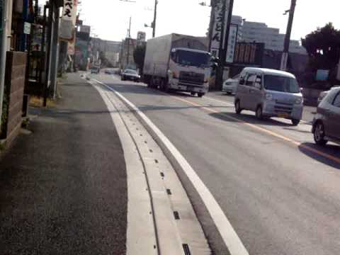 Cycling from Narita Airport to Tokyo Downtown, Honshu, Japan