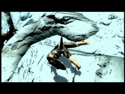 Skyrim -- Olympic Horse jumping (no horses were harmed)