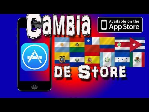 Como Cambiar El Pais o La Region De AppStore iPhone, iPod, iPad