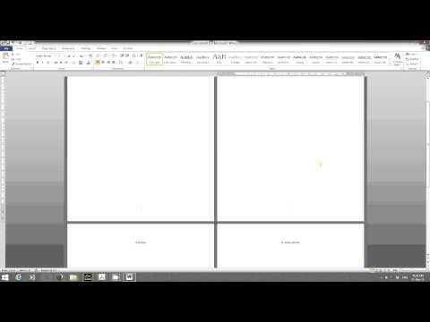 Tutorial Setting Nombor Muka Surat di MS Word
