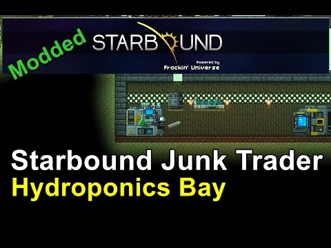 Power Station & Hydroponics Bay -  Starbound: Frackin' Universe (Ep 4)
