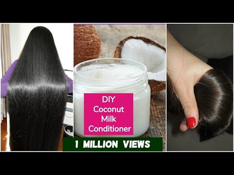 DIY Coconut Hair Conditioner For Silky Hair | Sushmita's Diaries