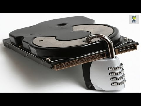 how to lock hard drive with password in windows 7/8/8.1/10