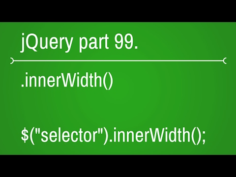 jquery innerwidth function - part 99