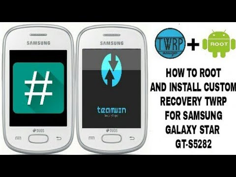 How to root and install custom recovery(twrp) on samsung
