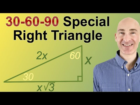 30-60-90 Special Right Triangles