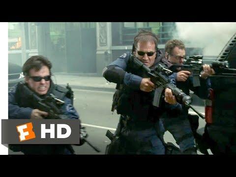 S.W.A.T. (2003) - Violent Ambush Scene (6/10) | Movieclips