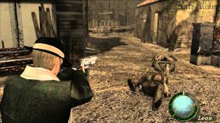Resident Evil 4 Ultimate HD Fun Run - Professional - Handcannon Only - No Damage - Chapter 1