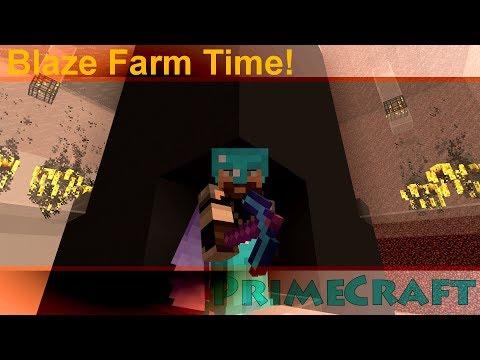 Minecraft Lets Play: Pathfinding Blaze Farm w AZBadfish! | PrimeCraft S2 E9