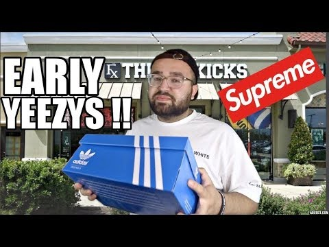 BRAND NEW YEEZYS EARLY!! (SUPREME, GUESS, CLOTHING/ SNEAKER PICK UPS & MORE!)