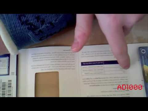 Unboxing Of UK O2 IPhone 4 Micro Sim